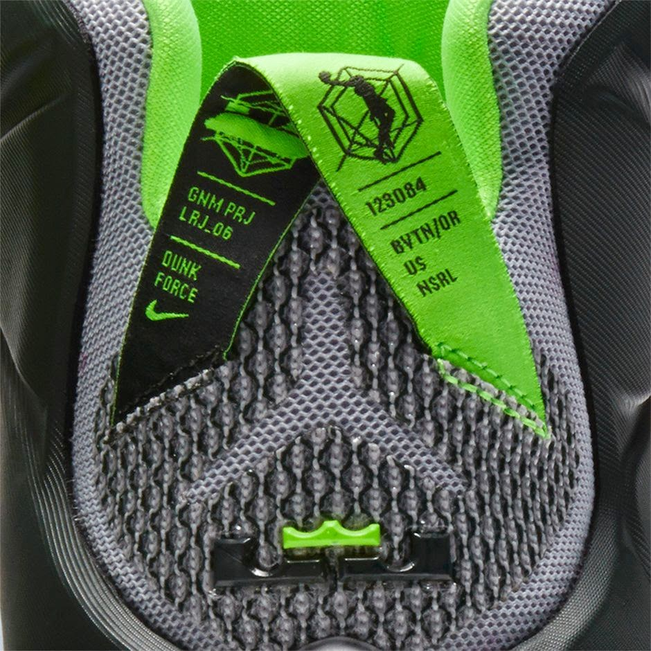 7e06ec8d563c ... Nike LeBron 12 8220Dunk Force8221 Official Look and Release Information