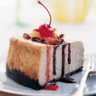 Banana-Split Cheesecake