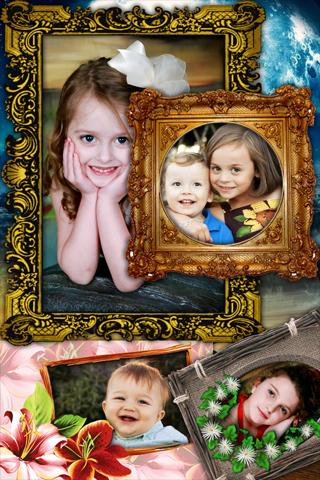 Amazing photo frames. - screenshot
