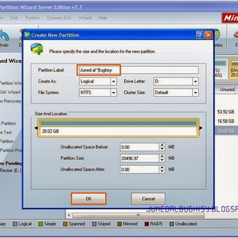 Partition Wizard 9