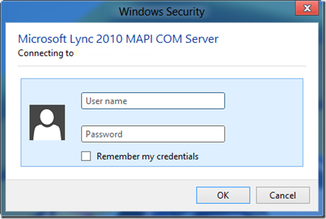 "IT Guy Diaries: ""Microsoft Lync 2010 MAPI COM Server"
