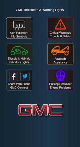 GMC Cars Indicators Lights