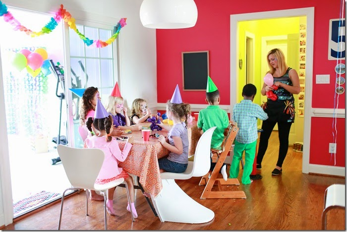 Design Addict Mom: Zion's Color Me Happy 5th Birthday Party