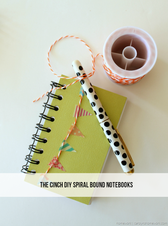 The Cinch DIY Notebooks via homework - carolynshomework (2)