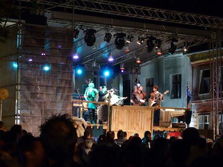 Turism in Romania: concert muzica medievala