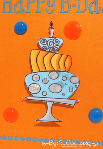 Garabattas - Birthday Ca - Happy Birthday Card - Ruthie Lopez - My hobby my art 2