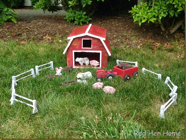 Red Hen Home toy barn 2