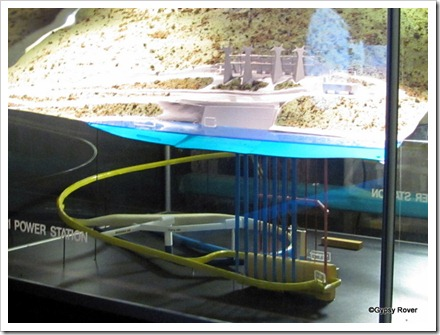 Model of the whole power station.