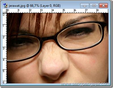 Cara Menghilangkan Jerawat Dengan Photoshop Sangpengajar Com