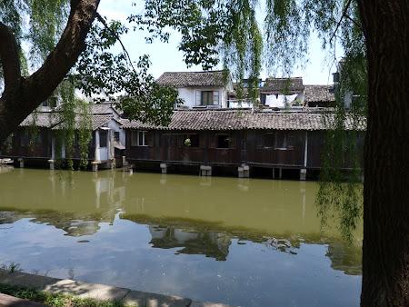 China traditionala: case traditionale chinezesti in Wuzhen