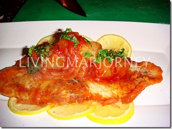 Dory Braised in Tomato Sauce by Chef Jeremy Favia