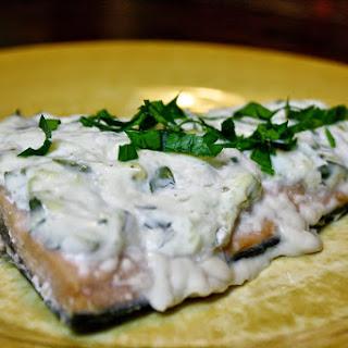 Parmesan Baked Salmon.
