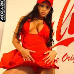 Andrea Rincon, Selena Spice Galeria 55 : Vestido Rojo y Tanga Roja – AndreaRincon.com Foto 35