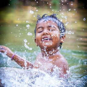 Fun in the forest  by Shaik Mohaideen - Babies & Children Children Candids ( tada, india, candid, chennai, tamilnadu,  )