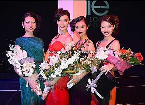 Elite Model Look Winners 2012 Singapore Lena Stewen Jenevieve Woon Eugena Phang 1st 2nd runner up Francesca Tan Make Up Store Face Model Berik Kazymzhanov David Hong Male Finals Winners Hard Rock Hotel Coliseum Resort World Sentosa
