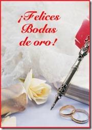 Bodas De Oro 50 Aos Tarjeta De Felicitacin Youtube