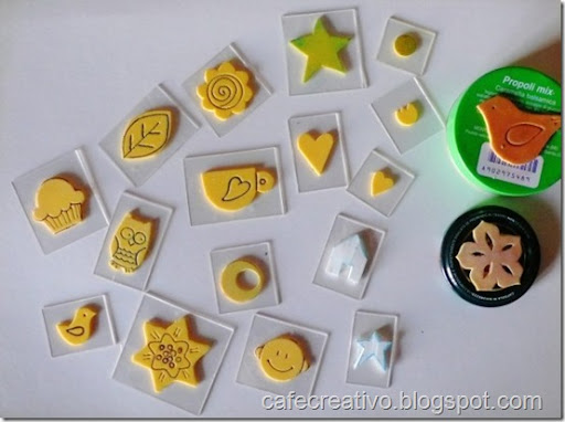 Amato Come fare Timbri faidate - Homemade stamps - Cafe Creativo NK37