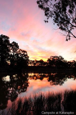 Katarapko campsite on River Murray