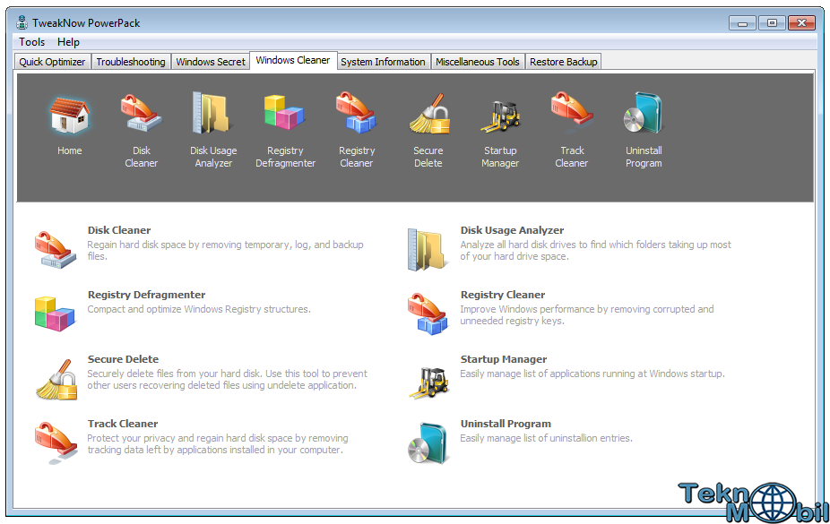 TweakNow PowerPack v4.6.0 Full