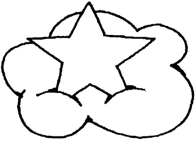 Dibujos Para Colorear Estrellas