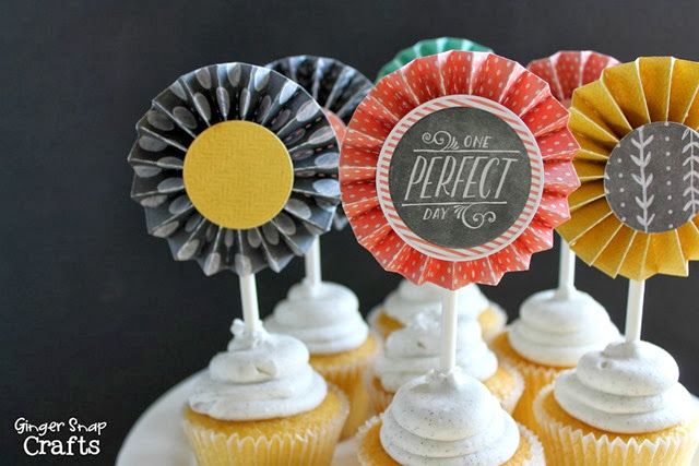 #paper #cupcaketoppers