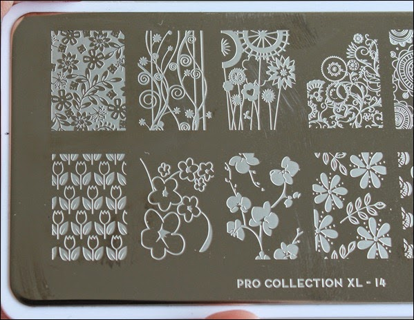 Stamping Plate Moyou Pro Collection 14