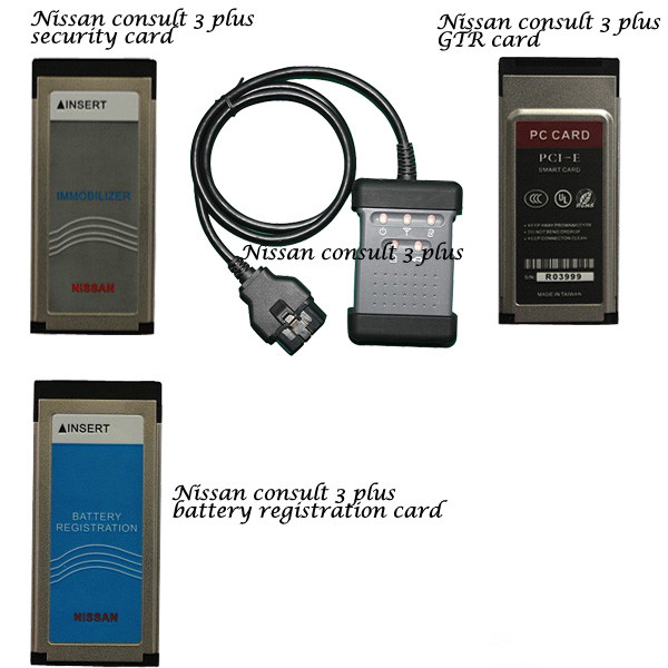 Benz SD Compact 4: Using Nissan consult 3 plus to check