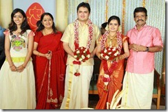 Balachandra Menon daughter Bhavana marriage1