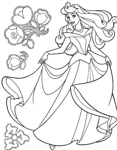 Dibujos De Princesas Disney Para Colorear