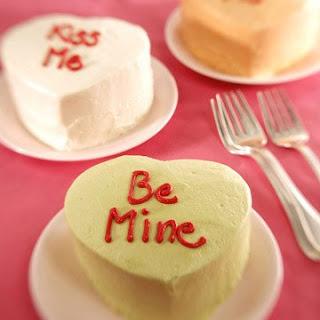 Mini Heart-Shaped Cake
