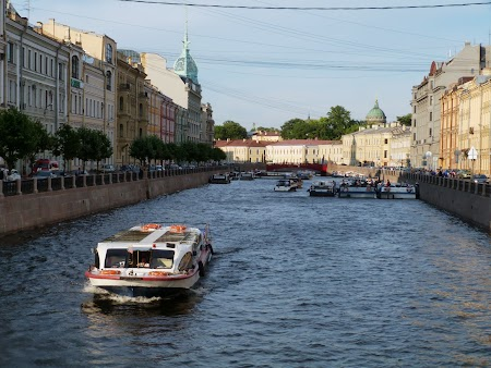 Canalele din St. Petersburg