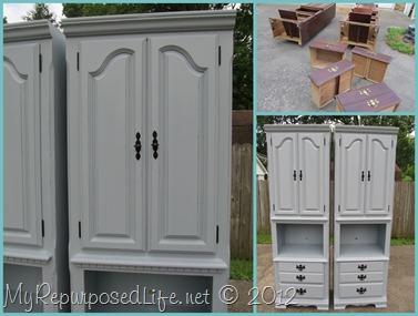 High Quality Bluegray Shelves