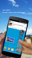 Screenshot of TOSS - Multi Media Messenger