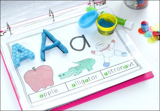 kindergarten rti letter identification recognition the inspired apple. Black Bedroom Furniture Sets. Home Design Ideas
