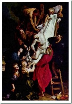rubens Descent from the Cross antwerp