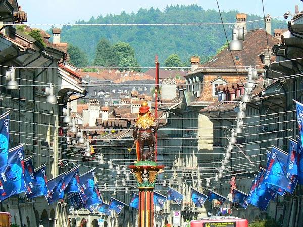 Obiective turistice Elvetia: strazile din Bern