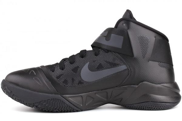 buy online 525b8 fb80e Nike Zoom Soldier VI (6) – Triple Black – Available Now ...