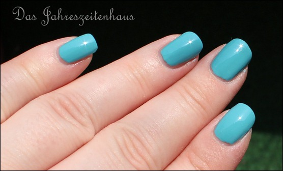 0 P2 Limited Edition LE Pool Side Party Nagellack 020 Turquoise Sky 5