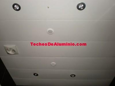 Techo de aluminio en Sabadell
