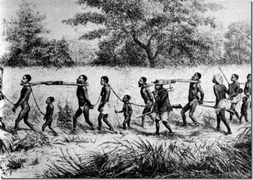 Порка негра в африке