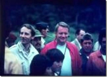 Stan Hall and Neil Armstrong Tayos 1976