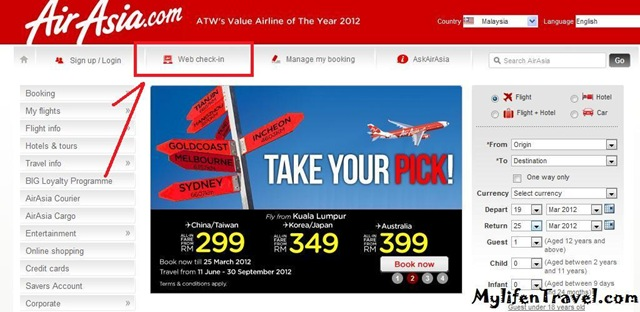 Airasia how to online Check in 1