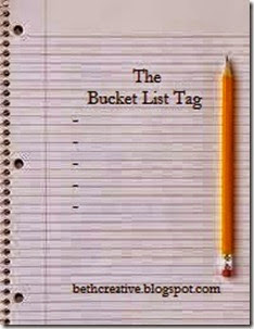The Bucket List Tag Button