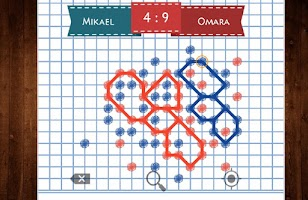 Screenshot of Connect Dots Duel