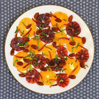 Orange, Almond & Date Salad.