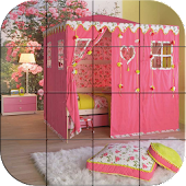 Tile Puzzle - Girls Rooms