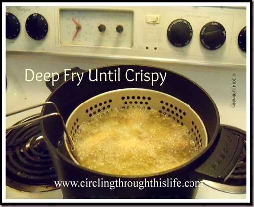 Buffalo Wings Deep Fry Until Crispy Circling Through This Life