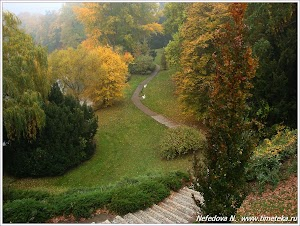 Осень в Яхимове. Чехия. Фото Нефедовой Н. www.timeteka.ru