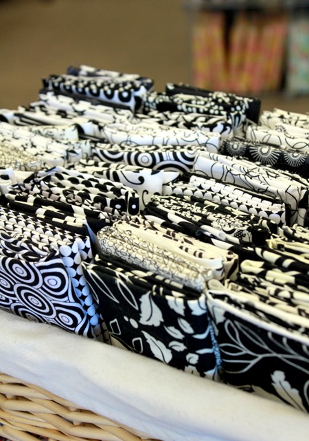 black and white fat quarters 2