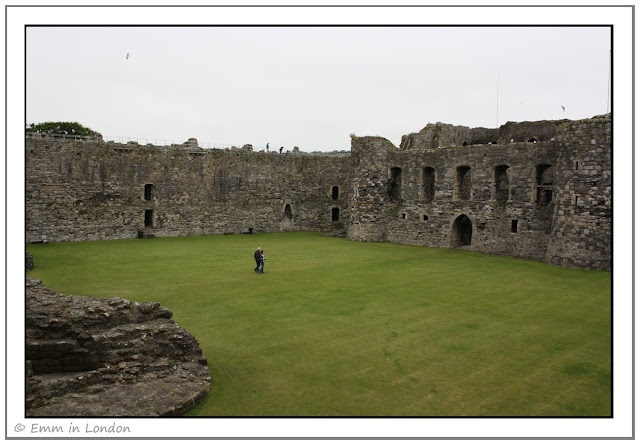 Inner ward north gatehouse Beaumaris Castle